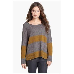 EILEEN FISHER Ballet Neck Wool & Yak Sweater